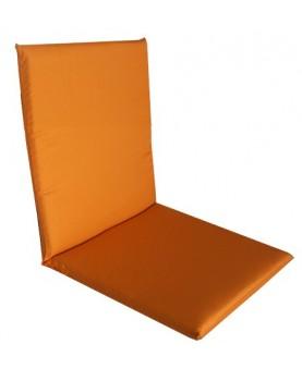 Възглавница за стол - двойна - 40 х 80см - Оранжева