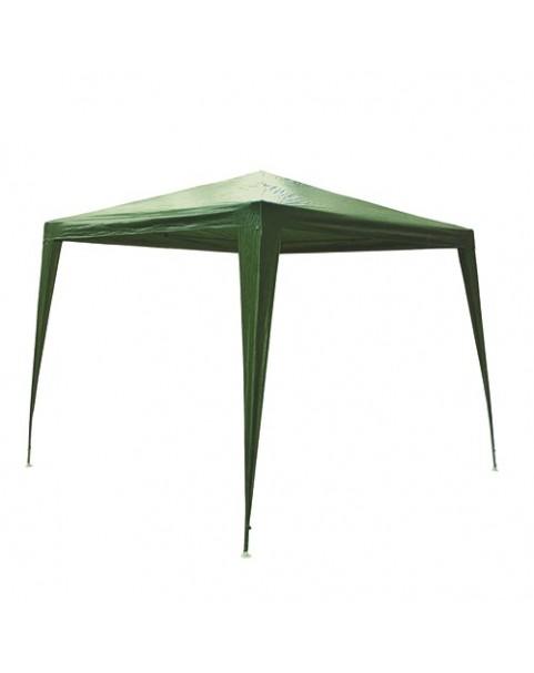 Градинска шатра найлонова - 3 х 3 м - Зелена