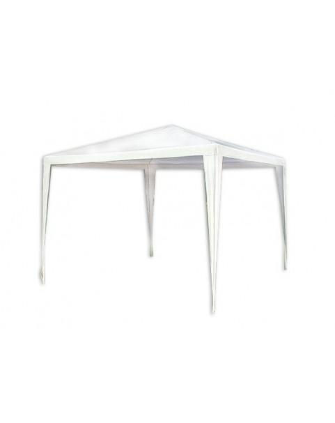 Градинска шатра полиестер - 3 х 3 м - Бяла