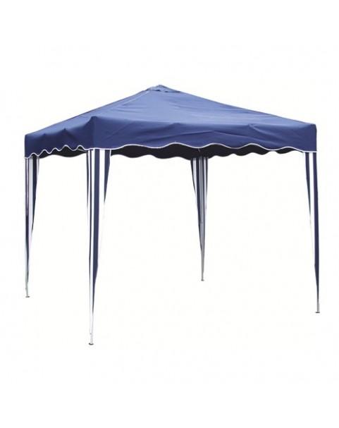 Градинска шатра полиестер - 3 х 3 м - Синя