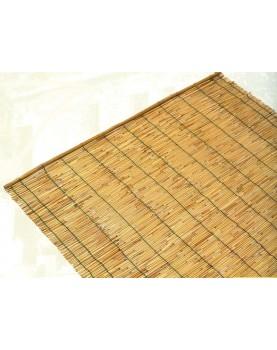 Естествена тръстика за огради - модел Cina - 1,5 х 3 м