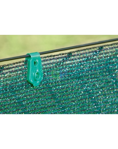 Nortene - Фиксиращи скоби за плетени мрежи Fixatex - зелен