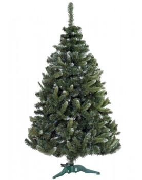Коледна елха с бял връх - София 120см