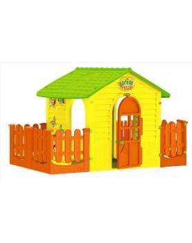 Mochtoys - Детска малка къща с две огради
