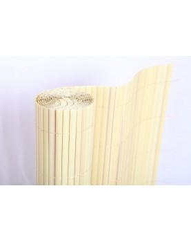 Покривало за огради PVC Бамбук - Натур 1 х 3.00м