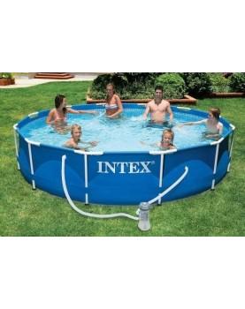 Intex - Басейн Metal Frame - 366 x 76см