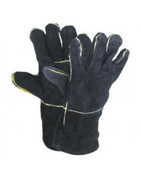 Ръкавици телешка кожа 40см за заварчици /SANDPIPER/