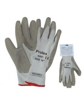Ръкавици топени в латекс PROTEX /с възможност за окачване
