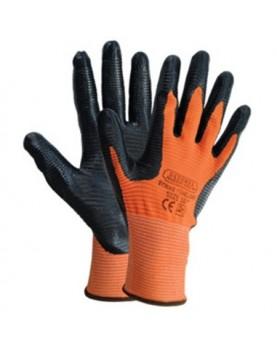 Ръкавици топени в латекс/ STRIKE/
