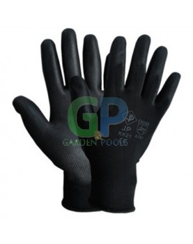 Ръкавици топени в латекс /черни/