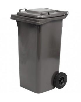 Пластмасова кофа за смет с колела 120 л. - антрацит