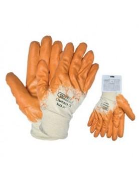 Ръкавици топени в нитр.жълти /с възможност за окачване/