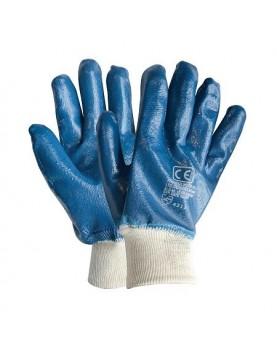 Ръкавици топени в нитрил /BLUEMAX/