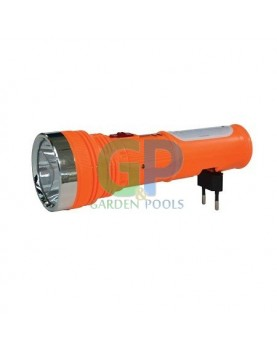 Фенер акумулаторен /1+8 LED/