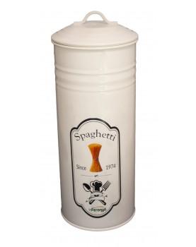 Feronya - Метална кутия с капак за съхранение на паста - крем