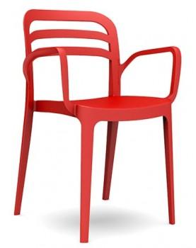 """Novussi - Стол с подлакътник """"ASPENDOS"""" червен"""