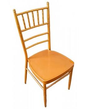 Кетъринг стол метален златист (А 03G) 39x41x92см
