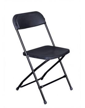 Кетъринг стол сгъваем класик черен (KP-C1028B)