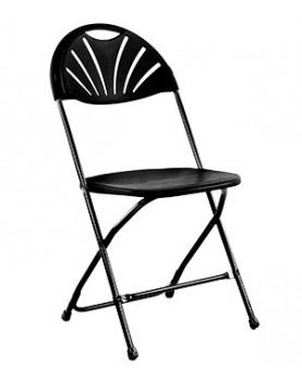 Кетъринг стол сгъваем черен (KP-Т1028B)