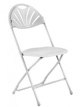 Кетъринг стол сгъваем бял (KP-Т1028W)