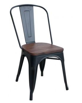Antique - Стол 51x44x85,5cm метал дърво (M818C)