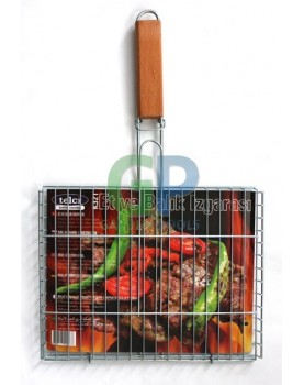 Скара за печене с дръжка K-215 с размери 32x46x2см