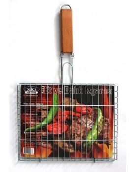 Скара за печене с дръжка K-216 с размери 35x51x2 см.