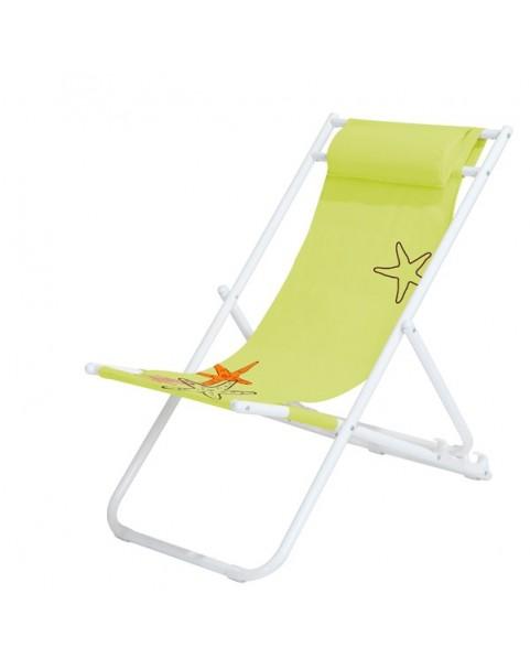 Плажен стол Star - Зелен