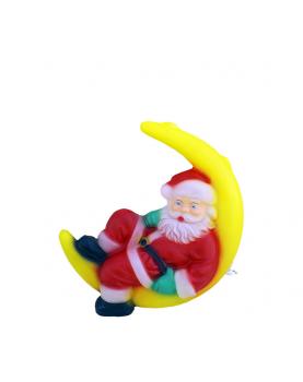 Дядо Коледа на луна (висящ)