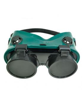 Очила за заварчици зелени