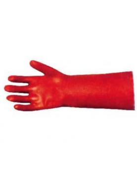 Ръкавици PVC покр.червени...