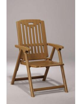 Пластмасов сгъваем стол - тик