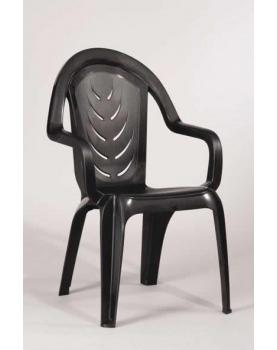 Пластмасов стол Мелиса - сиво