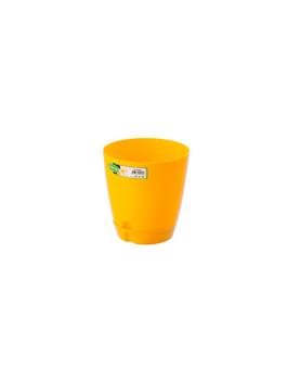 Саксия цветна №2 1.5L жълта...