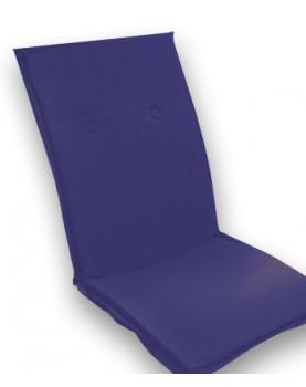 Възглавница за шезлонг 115 х 50см - Синя