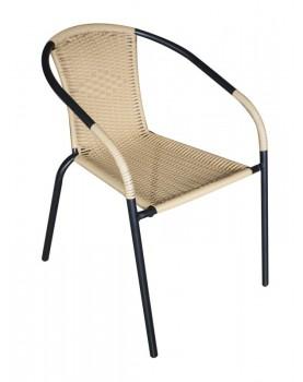 Ратанов стол с оплетка на...