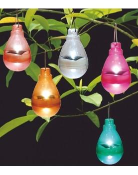 Соалрна лампа - различни цветове