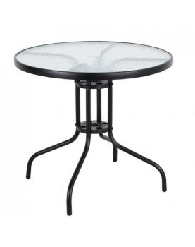 Метална маса с PVC стъкло -...