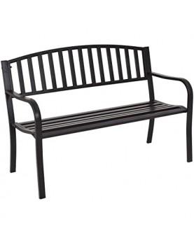 Градинска пейка WR5109-A черна