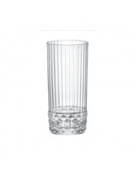 Стъклена висока чаша за...