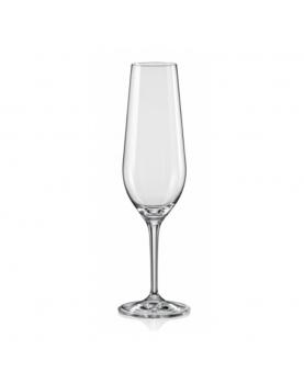 Стъклена чаша за шампанско...