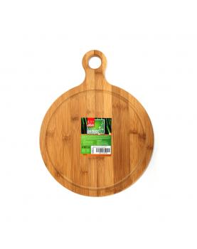 Бамбукова дъска кръгла с...