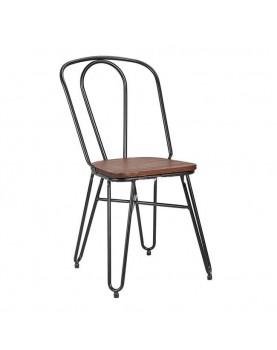 Стол 51x43x87см метал/дърво...