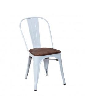 Стол 51x44x84см метал/дърво...
