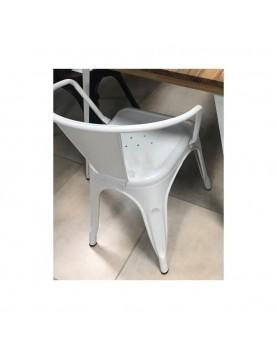 Метален стол 48x51x74см с...
