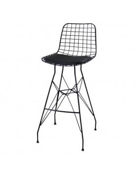 Метален бар стол мрежа с...