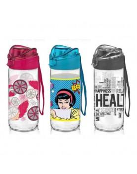 Стъклена бутилка за вода...