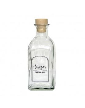 Стъклена бутилка за оцет с...