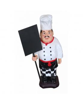 Пластмасова фигура готвач...