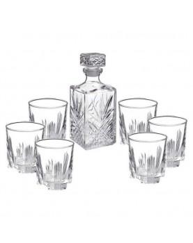 Стъклен комплект за уиски 7...